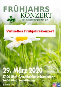 Read more about the article Virtuelles Frühjahrskonzert