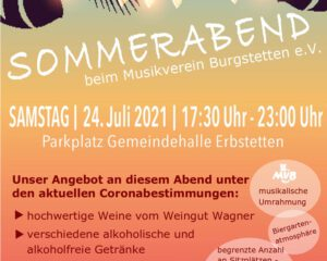 Read more about the article Sommerabend 2021